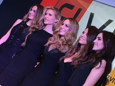 Edurne, Vanesa Romero con más famosas son las chicas L'Orèal