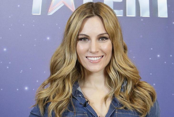 Edurne apuesta el denim en la presentación de 'Got Talent'
