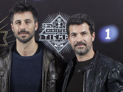 Hugo Silva y Rodolfo Sancho dos guapos en 'El Ministerio del Tiempo'
