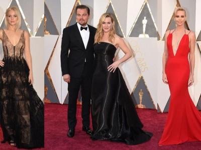 Oscar 2016 alfombra roja con estilo Hollywood