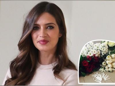 Sara Carbonero cumpleaños con flores y familia en Oporto