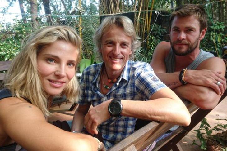 Elsa Pataky se lleva a Chris Hemsworth a su aventura con Jesús Calleja