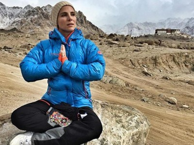 Elsa Pataky muestras las primeras imágenes de su aventura en el Tíbet