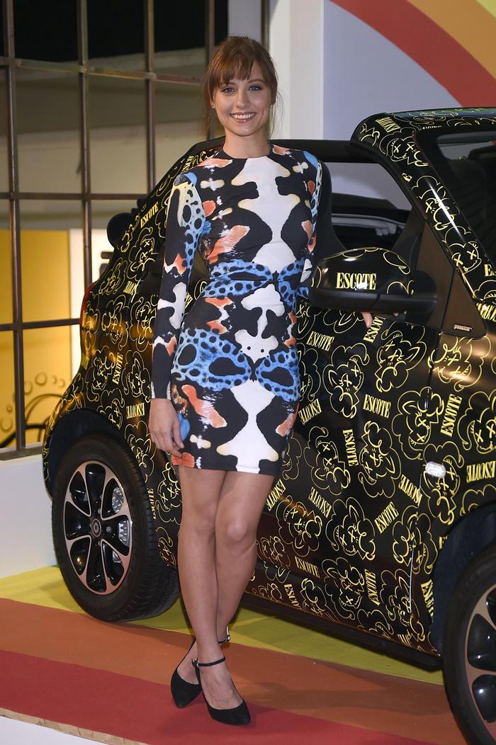 Michelle Jenner look de María Escoté en MBFWM