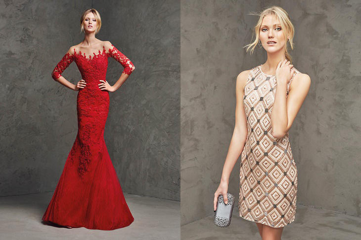 Pronovias vestidos de fiesta 2016: la colección al completo