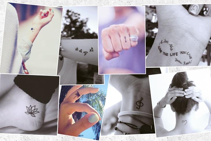 Tatuajes mini y chic que hasta a tu madre le gustarían