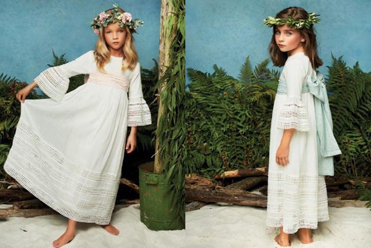 vestidos de comunin ibicencos un estilo diferente fotos mujeralia