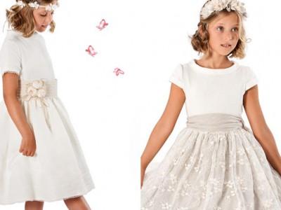 Vestidos de comunión Pili Carrera 2016: colección para princesas