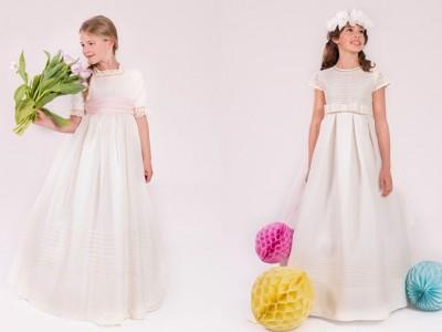 Vestidos de comunión Rosa Clará 2016: toda la colección