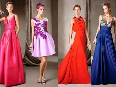 Pronovias vestidos de fiesta 2017: colección llena de color