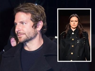 Bradley Cooper no se pierde a Irina Shayk desfilando en París