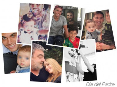 Día del Padre 2016, ¿cómo lo han celebrado los famosos?