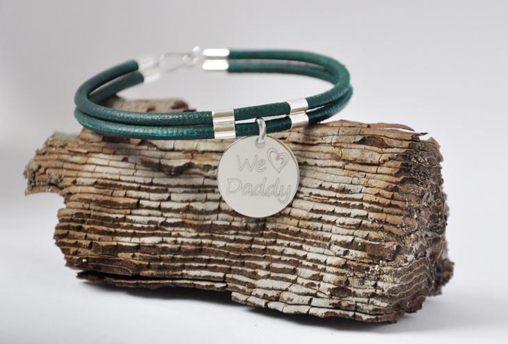 Día del Padre 2016: regalos personalizados con Kirema Jewels pulsera grabado