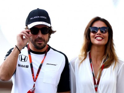 Fernando Alonso, ¿no se fiaba de Lara Álvarez?
