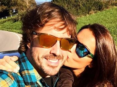 Fernando Alonso y Lara Álvarez ¡han roto!