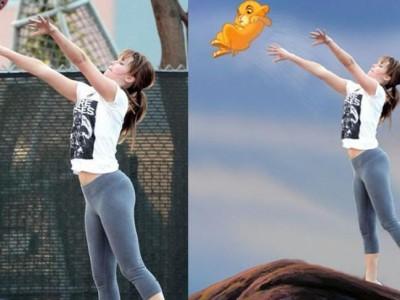 Jennifer Lawrence y su meme jugando al baloncesto que se ha hecho viral