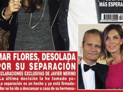 Mar Flores y Javier Merino divorcio: primeras declaraciones del empresario