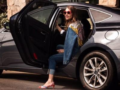 Paula Echevarría se apunta a Uber España