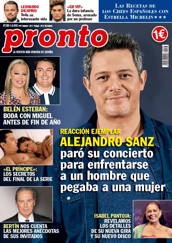 Belén Esteban y Miguel Marcos: portada Pronto