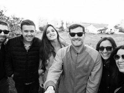 Sara Carbonero e Iker Casillas fin de semana con amigos en Oporto
