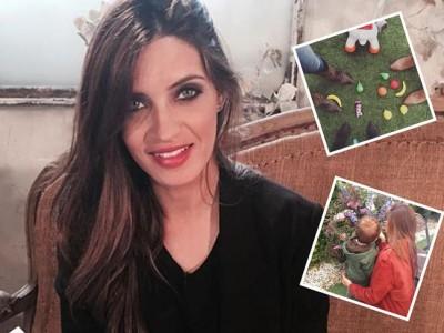 Sara Carbonero, visita sorpresa a Mediaset y tarde de