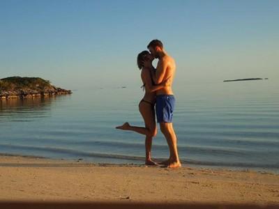 Taylor Swift y Calvin Harris vacaciones y besos en el paraíso