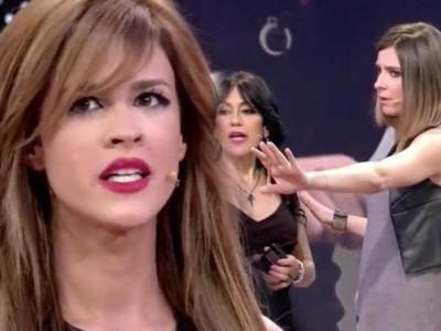 Ylenia y Maite gran enfrentamiento en el plató de Gran Hermano VIP