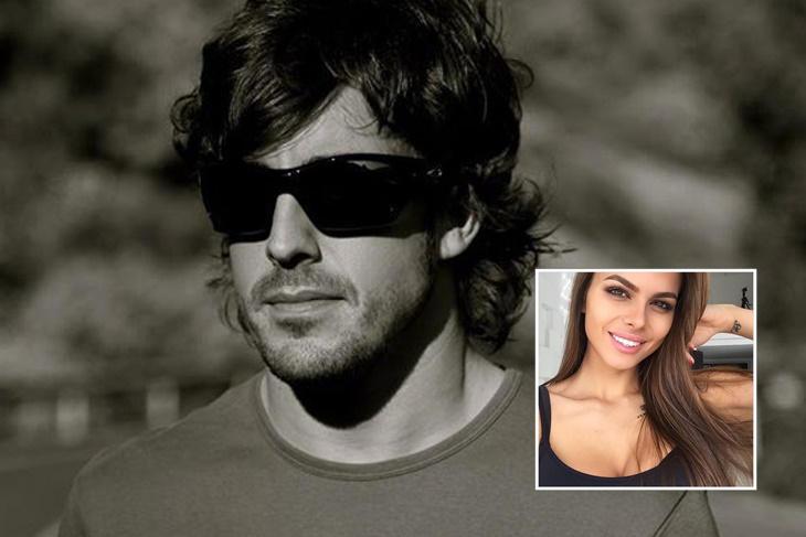 Fernando Alonso desmiente su supuesta relación con una modelo rusa