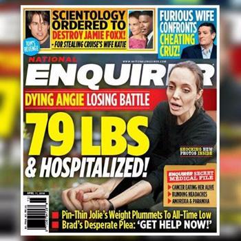 Portada The National Enquirer