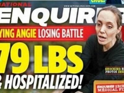 Angelina Jolie, ¿hospitalizada y en situación grave?