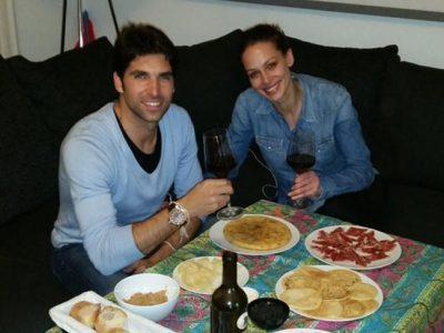 Eva González y Cayetano Rivera noche de cena y MasterChef