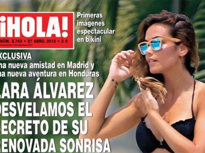 Lara Álvarez espectacular en bikini en Honduras y ¿nuevo amor?