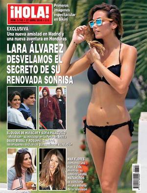 Lara Álvarez portada ¡Hola!