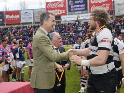 El Rey Felipe VI vive la fiesta de rugby en Valladolid