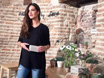 Sara Carbonero primer acto después de su boda para Agatha Paris