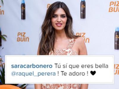 Sara Carbonero responde a las primeras felicitaciones de boda