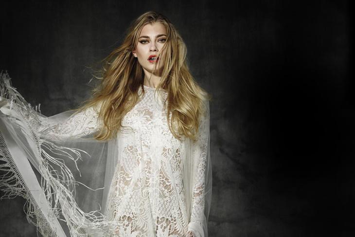 Vestidos de novia ibicencos 2016, pon el toque boho a tu boda