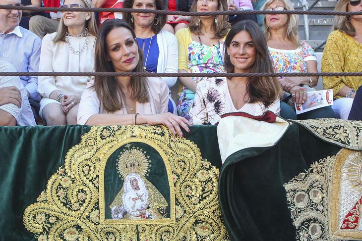 Eva González y Lourdes Montes acompañan a los hermanos Rivera en Granada