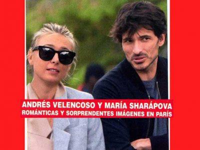 Andrés Velencoso y María Sharapova, pillados juntos en París