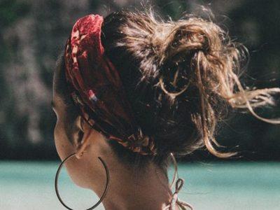 Bandanas para el pelo, el complemento perfecto para el verano