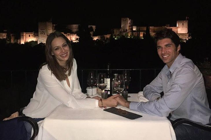 Eva González y Cayetano Rivera cena romántica en Granada