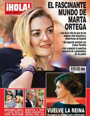 Marta Hazas portada ¡Hola!
