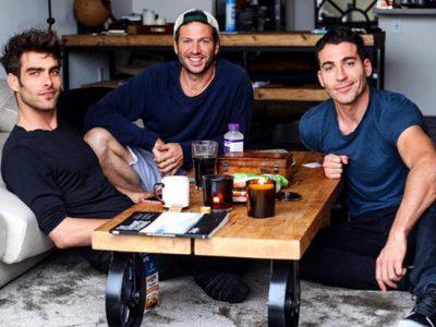 Miguel Ángel Silvestre y Jon Kortajarena dos guapos disfrutando en Los Ángeles