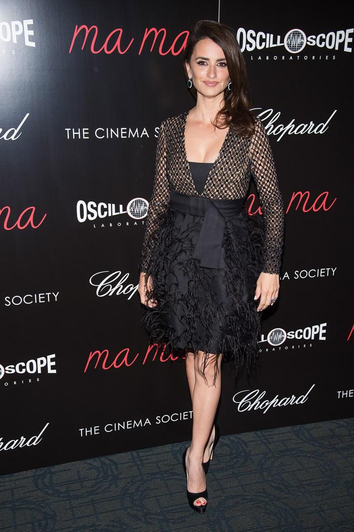 Penélope Cruz look pase especial 'Ma Ma' en NY