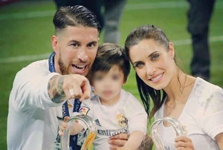 Pilar Rubio y Sergio Ramos celebración en familia de La Undécima