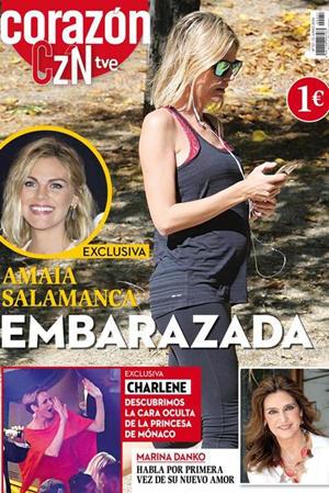 Amaia Salamanca portada Corazón Czn RTVE