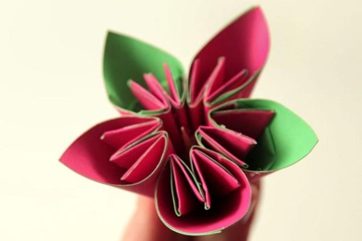 Flores De Papel Paso A Paso Origami Conoce La Técnica Vídeo