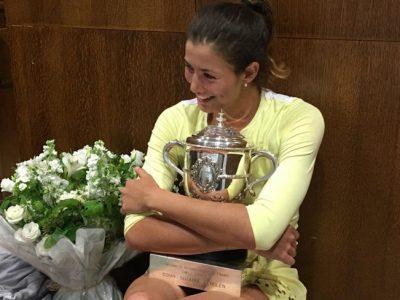 Garbiñe Muguruza se corona reina en Roland Garros 2016