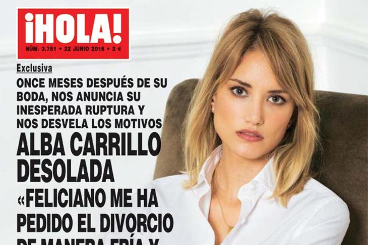 Alba Carrillo y Feliciano López se separan, ¿cómo ha sido?