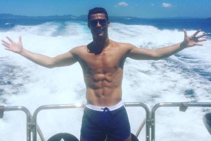 Cristiano Ronaldo, ¿quién es la colombiana con la que estuvo en Ibiza?